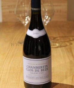 Bouteille Chambertin Clos de Beze Grand Cru 2013 Domaine Bruno Clair