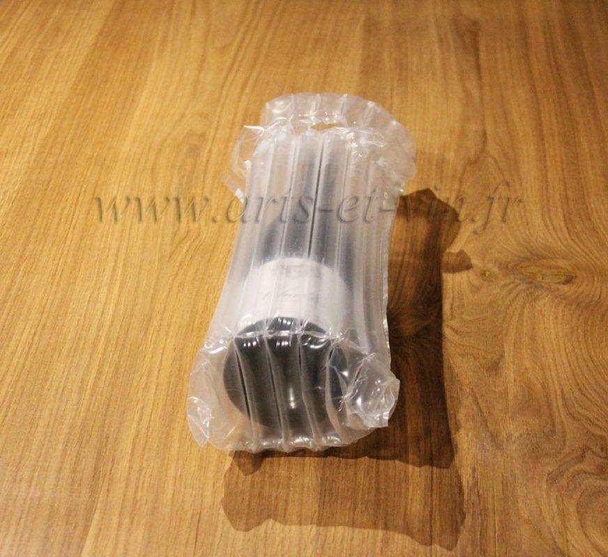 Emballage bouteilles transport gonflable