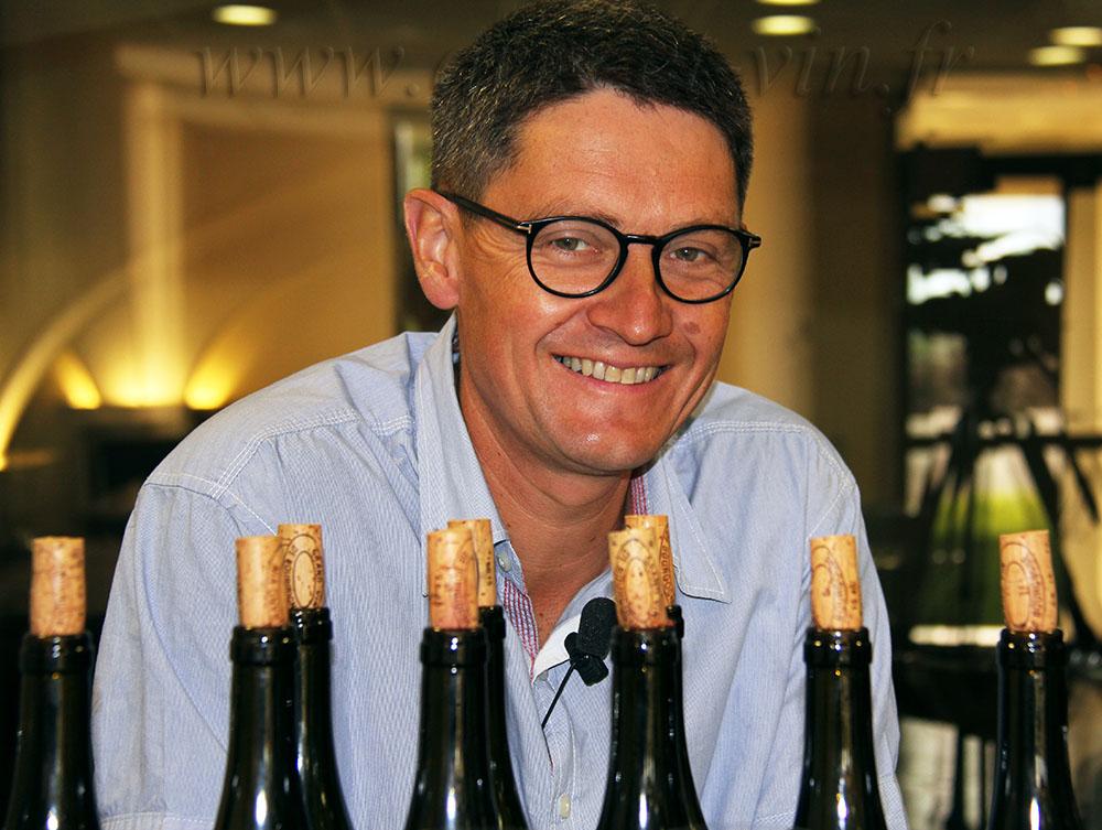Eric Germain chef de culture Domaine Vincent Girardin
