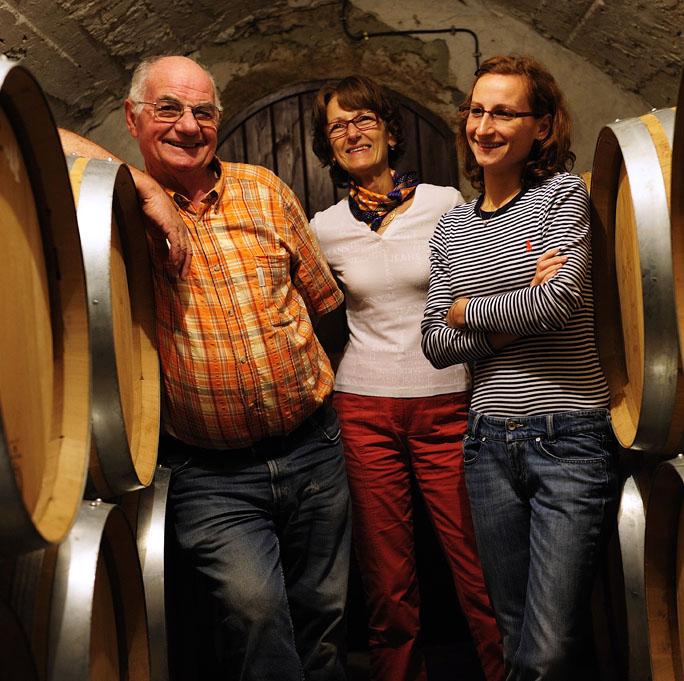 Famille Cartier dans Cave Les Goubert