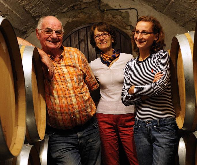 La famille Cartier Domaine Les Goubert