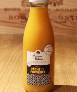 Bouteille Nectar Peche de Provence Pressoirs de Provence