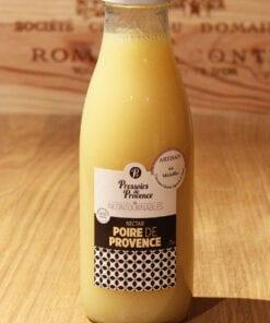 Bouteille Nectar Poire de Provence Pressoirs de Provence