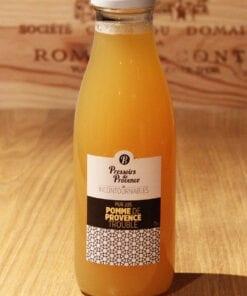 Bouteille Pur Jus Pomme de Provence Trouble Pressoirs de Provence