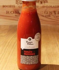 Bouteille Pur Jus Tomate de Provence Pressoirs de Provence