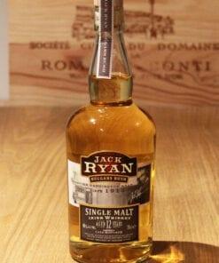 Bouteille Whisky Single Malt Jack Ryan 12 ans Irlande