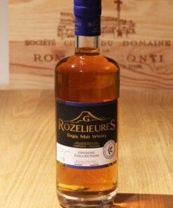 Bouteille Whisky Single Malt Rozelieures Collection Origine France