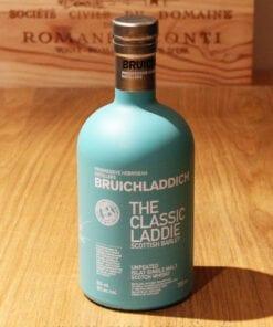 Bouteille Whisky Single Malt Bruichladdich Classic Laddie Scottish Barley Islay Ecosse