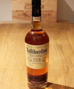 Bouteille Whisky Single Malt Tullibardine 228 Burgundy Highland Ecosse