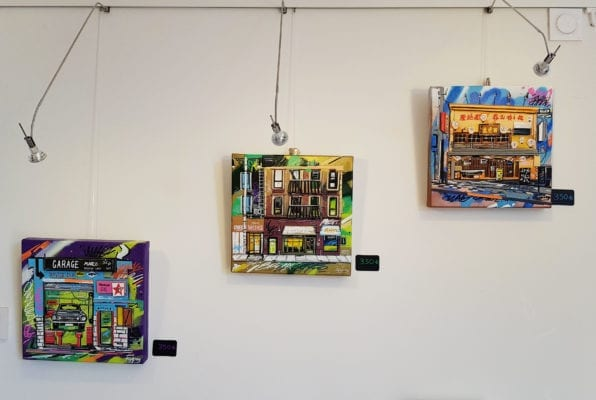 Expo Galerie Pappay petits formats