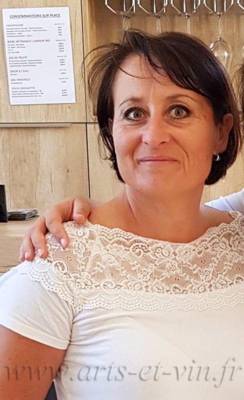 Marie Jo a la galerie