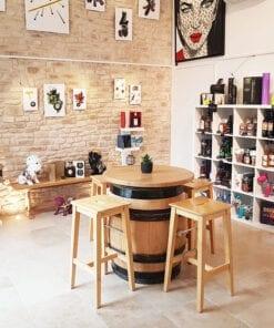 Galerie Arts et Vin mai 2020 Tonneau