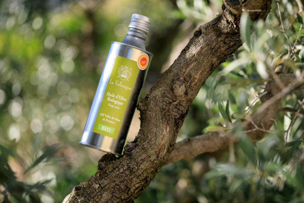 Bouteille huile d'olive La Vallongue