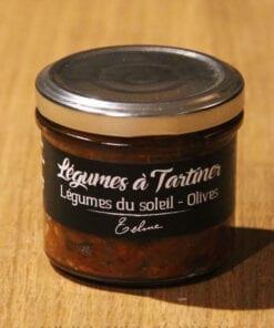 Legumes a tartiner legumes du soleil olives Maison Telme