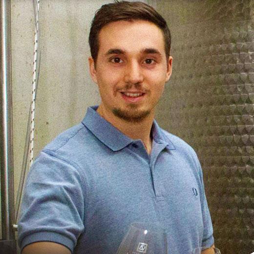 Nicolas Camallonga domaine de la Verde