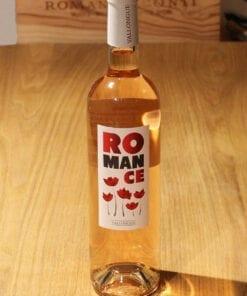 Romance rose Alpilles La Vallongue