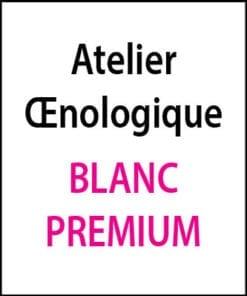 atelier oenologique Blanc Premium arts et vin 2