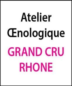 atelier oenologique grand cru vallee du rhone arts et vin 2
