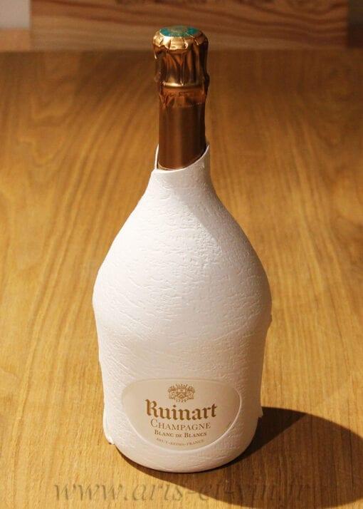 Bouteille Champagne Ruinart Blanc de Blancs etui seconde peau