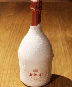 Bouteille Champagne Ruinart Rose etui seconde peau