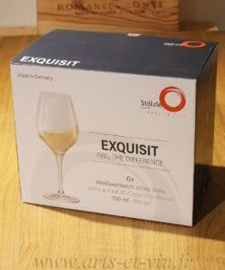 Coffret 6 verres a vin exquisit 35cl