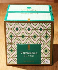 Cubi Vin Blanc IGP Vaucluse BIB 5L