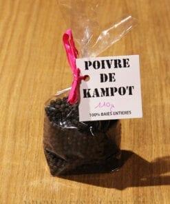 Sachet poivre de Kampot IGP 110g