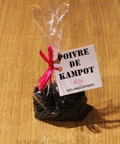 Sachet poivre de Kampot IGP 60g