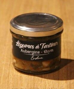 Legumes a tartiner aubergines thym Maison Telme