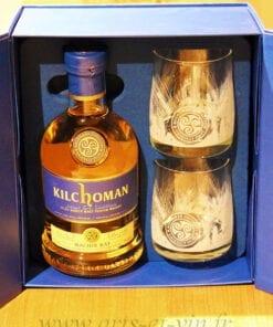 Whisky Kilchoman Machir Bay Coffret 2 verres open