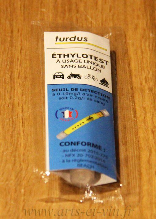 Ethylotest 02g sans Chrome